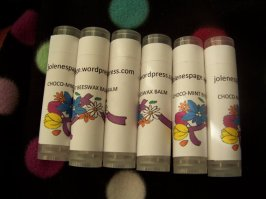 Choco-mint beeswax lip balm: 1 for $5 or 2 for $7.50 + $2.07 shipping