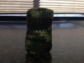 Green Camo Koozie,  $7.50 + @.07 shipping