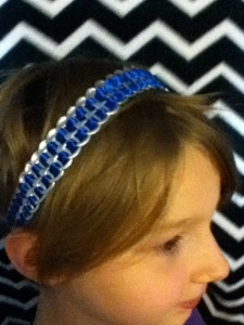Pop tab ribbon head-bands $12 You can choose any color! +$2.07 shipping