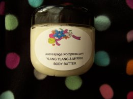 Ylang Ylang & Myrrh body butter. 6 oz for $15 + $2.58 shipping or 2 oz for $6 + $2.07